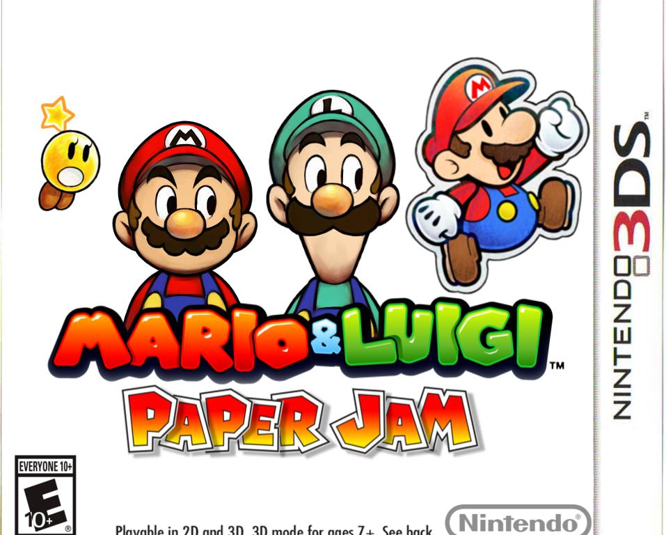 Mario Luigi Paper Jam Hub World Hq
