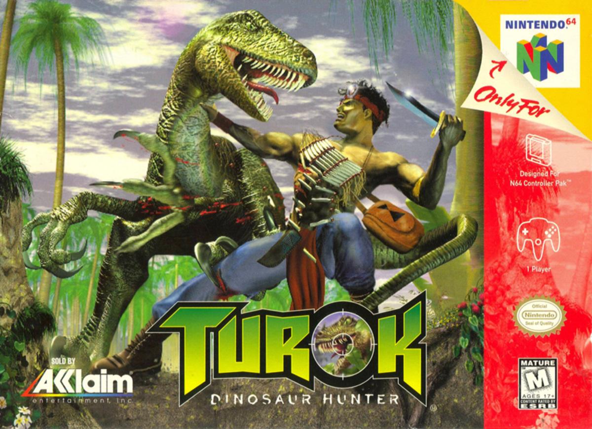 turok dinosaur hunter n64