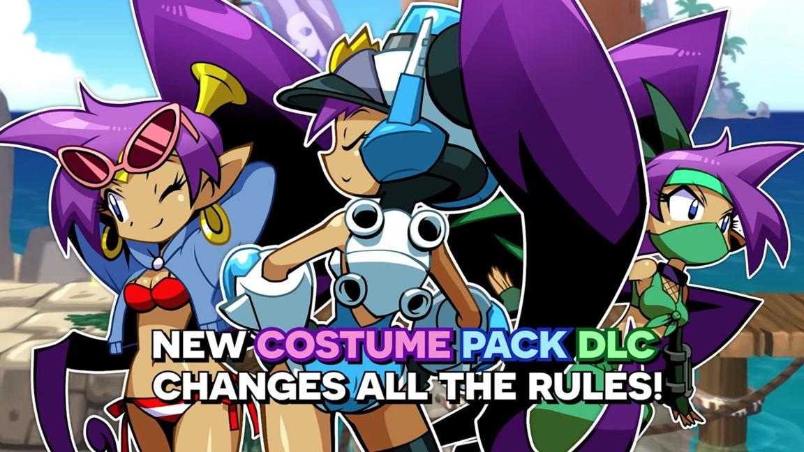 Shantae Half Genie Hero Costume Pack Hub World Hq