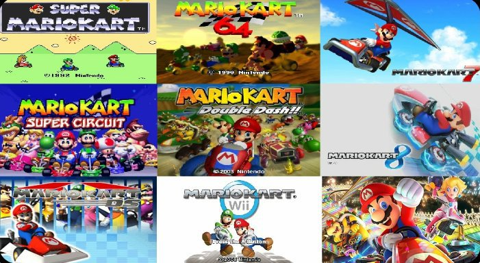 Top 5 Mario Kart Games Hub World Hq